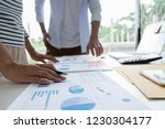 start up partners are... | Shutterstock . vector #1230304177