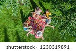 happy family with children... | Shutterstock . vector #1230319891