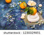 traditional japanese kagami...   Shutterstock . vector #1230329851