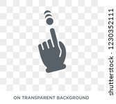 touch and scroll gesture icon....   Shutterstock .eps vector #1230352111