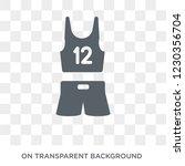 sport wear icon. trendy flat... | Shutterstock .eps vector #1230356704