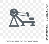 rowing machine icon. trendy... | Shutterstock .eps vector #1230356734