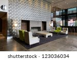 Stock photo hotel interior 123036034