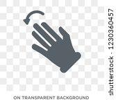fleck left gesture icon. trendy ... | Shutterstock .eps vector #1230360457