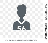 teenager icon. trendy flat... | Shutterstock .eps vector #1230360547