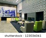 hotel interior   Shutterstock . vector #123036061