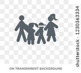 parent's sibling icon. trendy... | Shutterstock .eps vector #1230363334