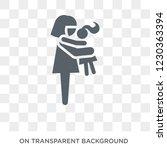 daughter icon. trendy flat...   Shutterstock .eps vector #1230363394