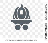 cinderella carriage icon....   Shutterstock .eps vector #1230369847