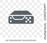 video recorder icon. trendy... | Shutterstock .eps vector #1230374497