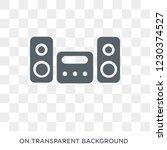 stove icon. trendy flat vector... | Shutterstock .eps vector #1230374527