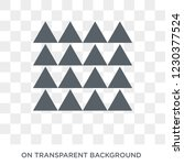 multiple triangles triangle... | Shutterstock .eps vector #1230377524