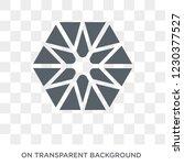 multiple triangles inside... | Shutterstock .eps vector #1230377527