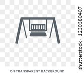 porch swing icon. porch swing... | Shutterstock .eps vector #1230380407