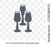 glassware icon. glassware... | Shutterstock .eps vector #1230380431