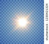 glow light effect. star burst...   Shutterstock .eps vector #1230421324
