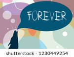 conceptual hand writing showing ... | Shutterstock . vector #1230449254