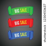 our big sale set of banners | Shutterstock .eps vector #1230453637