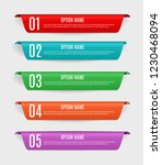infographic templates with ...   Shutterstock .eps vector #1230468094