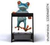 fun frog   3d illustration | Shutterstock . vector #1230468574