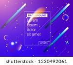 minimal cover banner template.... | Shutterstock .eps vector #1230492061