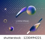 colorful geometric background.... | Shutterstock .eps vector #1230494221