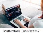 chiang mai  thailand   march 31 ...   Shutterstock . vector #1230495217