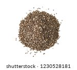 nutritious chia seeds isolated... | Shutterstock . vector #1230528181