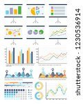 infographics and flowcharts...   Shutterstock .eps vector #1230536914