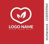 leaves logo concept. designed...