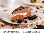close up of delicious chocolate ... | Shutterstock . vector #1230588271