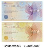 voucher   coupon | Shutterstock .eps vector #123060001