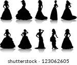 vector illustration set of... | Shutterstock .eps vector #123062605