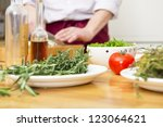 tomato  thyme  rosemary  onions ... | Shutterstock . vector #123064621