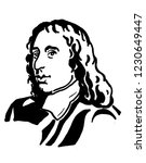 blaise pascal  the french... | Shutterstock . vector #1230649447