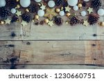 christmas background with... | Shutterstock . vector #1230660751