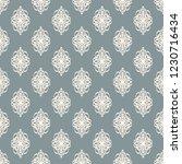 seamless decorative vector... | Shutterstock .eps vector #1230716434
