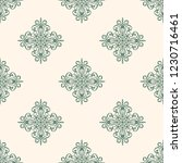 seamless decorative vector... | Shutterstock .eps vector #1230716461