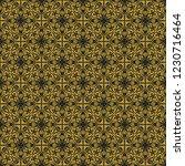 seamless decorative vector... | Shutterstock .eps vector #1230716464