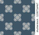 seamless decorative vector... | Shutterstock .eps vector #1230716467