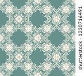 seamless decorative vector... | Shutterstock .eps vector #1230716491