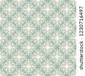 seamless decorative vector... | Shutterstock .eps vector #1230716497