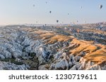 goreme  cappadocia  turkey  ... | Shutterstock . vector #1230719611