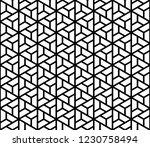 seamless pattern based on... | Shutterstock .eps vector #1230758494