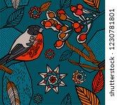 christmas seamless pattern ...   Shutterstock .eps vector #1230781801