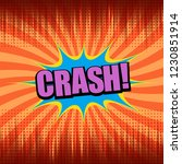 comic bright orange concept... | Shutterstock .eps vector #1230851914