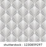 vintage seamless geometric... | Shutterstock .eps vector #1230859297