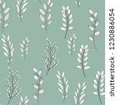vector floral seamless pattern. ... | Shutterstock .eps vector #1230886054
