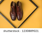 male shoes. men's fashion... | Shutterstock . vector #1230889021