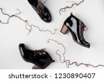 footwear for women. high heels. ... | Shutterstock . vector #1230890407